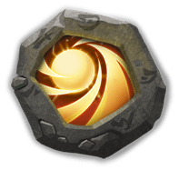 Sacred Light Insignia - Increases Max HP by 48% and reduces DMG received by 36%.
