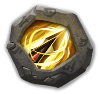 Zealous Drive Insignia - Grants +1 range, increases ATK by 50%, and reduces damage taken by 35%.