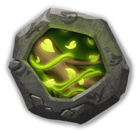 Vital Boon Insignia - Raises HP by 52%. When attacked, has a 35% chance to remove 2 nearby enemies