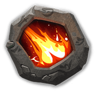 Fiery Comet Insignia - Gain 50% ATK. When attacking, deal 300% ATK DMG to, and remove buffs from, 3 random enemy Heroes. (Ignores and removes Elusive. CD: 7s)