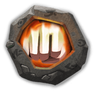 Heavy Blow Insignia - Has a 10% chance to inflict Coma for 1.5 secs on target when attacking.