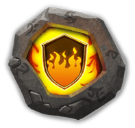 Flame Guard Crest I - Can dismantle into Disks (to raise Adeptness Lv) with augmented Hero at Inscription Lv 100.