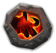 Berserk Crest I - Can be dismantled into Disks (to raise Adeptness Lv) after Hero is at Inscription Lv 100 and augmented.