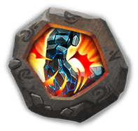 Stone Skin Crest I - Can dismantle into Disks (to raise Adeptness Lv) with augmented Hero at Inscription Lv 100.