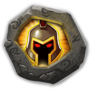 War God Crest III - Increases ATK by 10%.