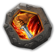 Life Drain Insignia - Restores 2% HP with each attack.