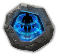 Psyshield Crest III - Increases Max HP by 4%. Every 15s, grants a shield that blocks one negative status.