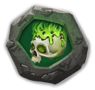 Corrode Insignia - Has 20% chance to lower Energy of 3 nearby enemies by 10 when attacked.