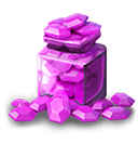 Jar of Gems - Gained 50 Gems.