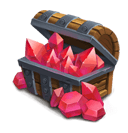 Red Crystal Box L - Grants 1000 Red Crystals.