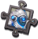 Robo-Eye Scrap - Exchanges for the specific Ghoulem Skin. Use to enhance Skin Effects.