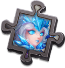 Frost Maiden Scrap - Exchanges for the specific Valentina Skin. Use to enhance Skin Effects.