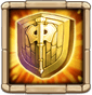 Divine Shield Fortifies defenses. Reduces damage taken by 40% for 5 secs.